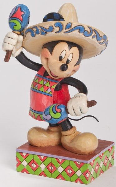 Jim Shore Disney 4043635 Mickey Mexico