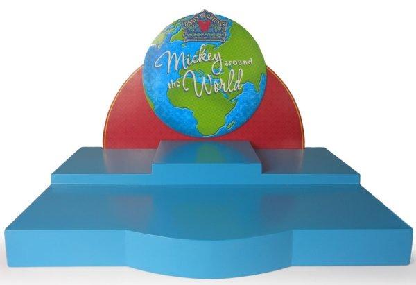 Jim Shore Disney 4043636 Mickey World Backer Card