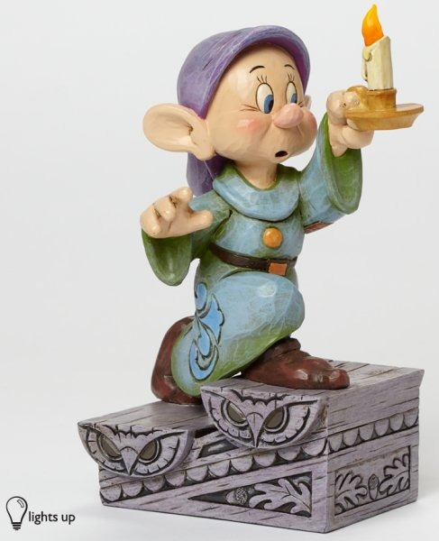 Jim Shore Disney 4043642 Dopey with Candle