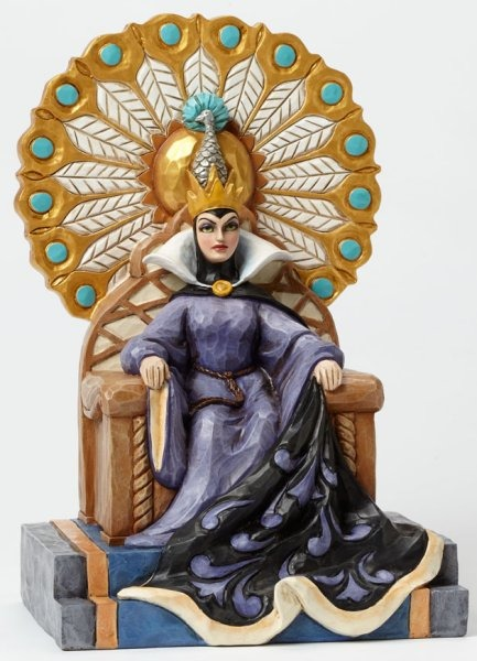 Jim Shore Disney 4043649 Evil Queen on throne