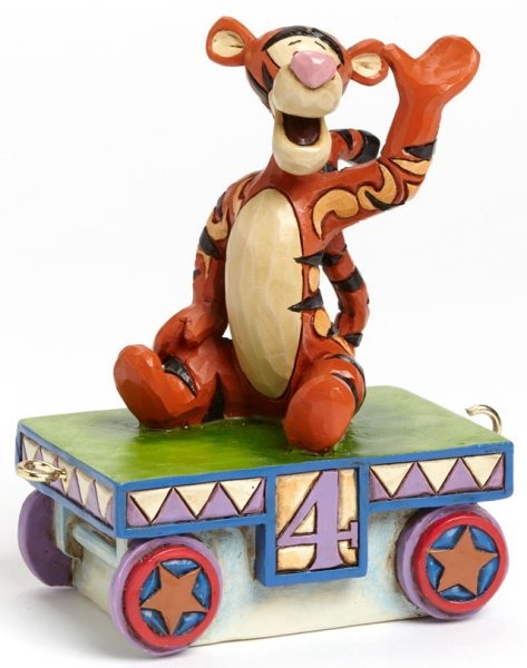 Jim Shore Disney 4043658 Tigger Train - 4