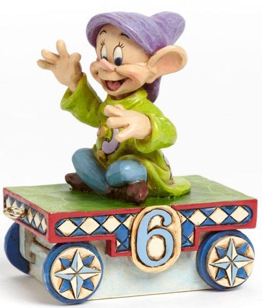 Jim Shore Disney 4043660 Dopey Train - 6