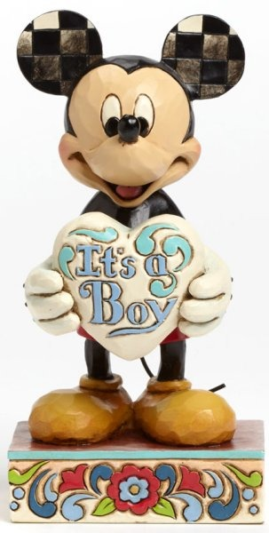 Jim Shore Disney 4043663 Welcome little one Micke