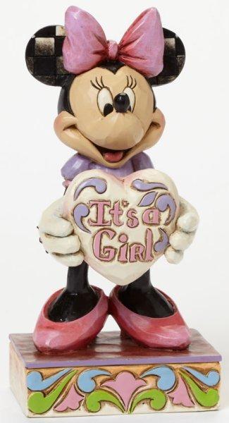 Jim Shore Disney 4043664 Welcome little one Minni
