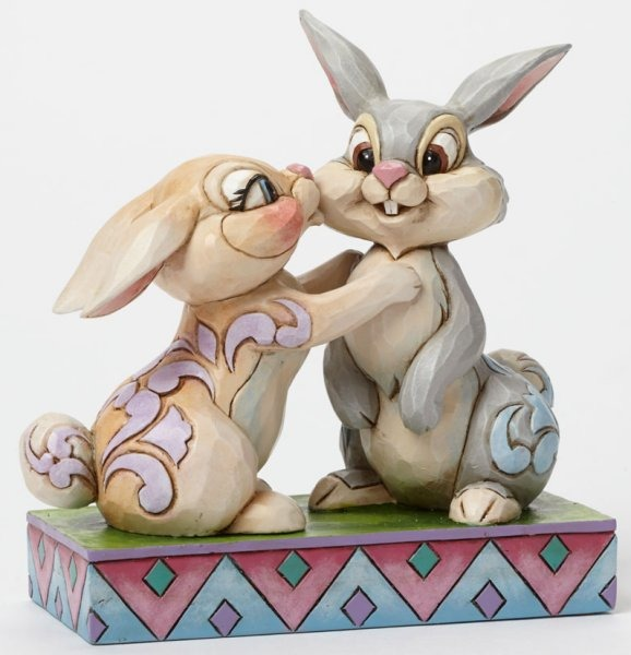 Jim Shore Disney 4043667 Thumper and Miss Bunny