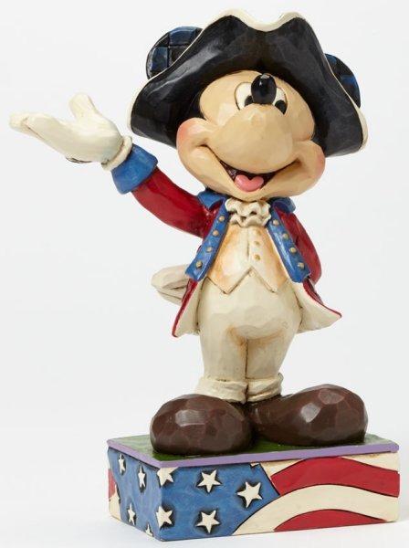 Jim Shore Disney 4045235 Patriotic Mickey