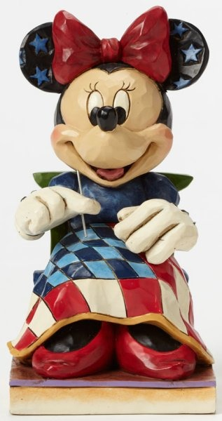 Disney Traditions by Jim Shore 4045237 Americana Minnie Mouse