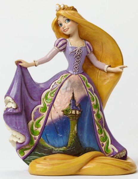 Jim Shore Disney 4045240 Rapunzel with Castle Dress