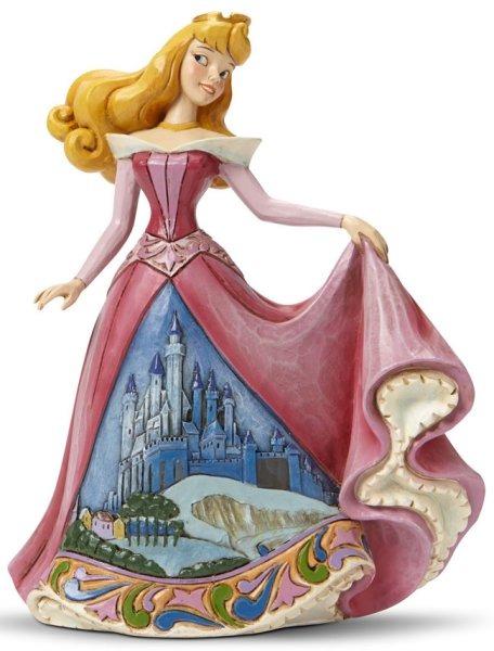 Jim Shore Disney 4045242 Aurora with Castle Dress