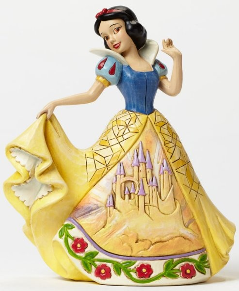 Jim Shore Disney 4045243 Snow White with Castle Dress