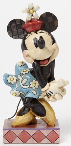 Jim Shore Disney 4045246 Retro Minnie Mouse Personality