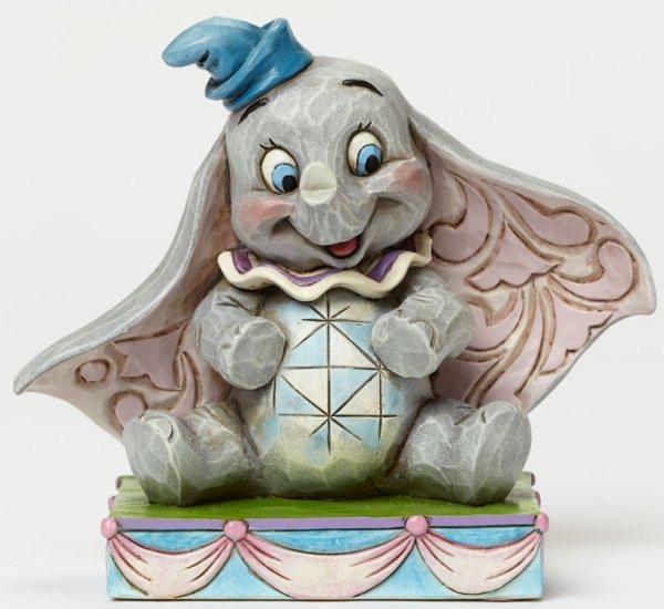 Jim Shore Disney 4045248 Dumbo Personality Pose