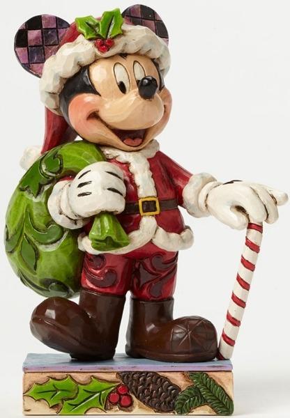 Jim Shore Disney 4046014 Christmas Mickey PP