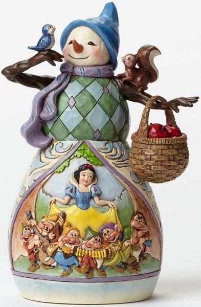 Jim Shore Disney 4046020 Snowman - Snow White
