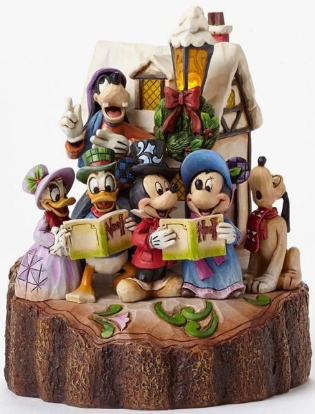 Jim Shore Disney 4046025 Carved by Heart Caroling