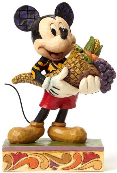 Jim Shore Disney 4046029 Fall Themed Mickey with