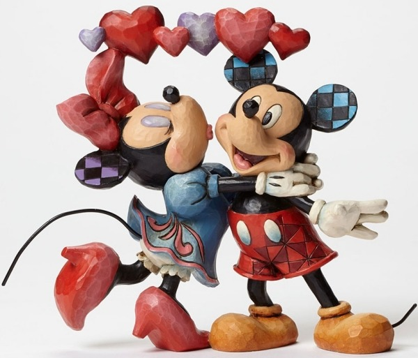 Jim Shore Disney 4046038 Mickey and Minnie Coup