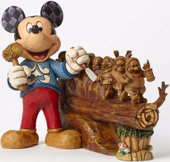 Jim Shore Disney 4046045SI Disney Traditions 10 yea