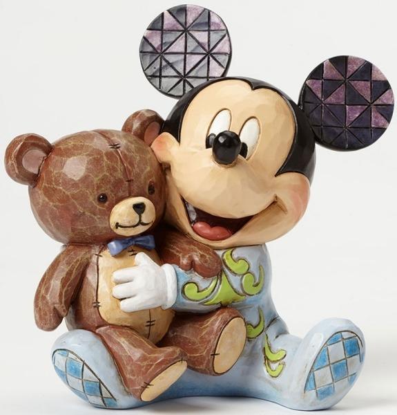 Jim Shore Disney 4046060 Baby's First Mickey