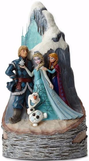 Jim Shore Disney 4048651 Frozen Birch Carved by Heart