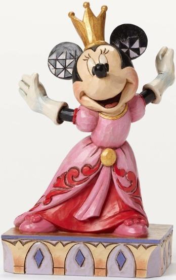 Jim Shore Disney 4048655 Minnie Queen for A Day