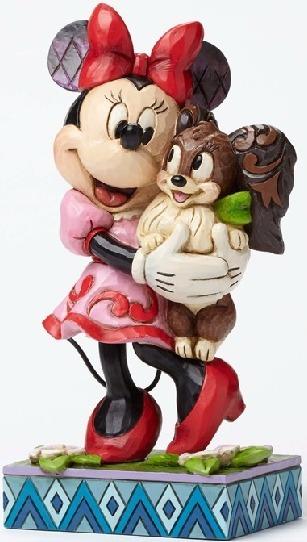 Jim Shore Disney 4048657 Minnie and Fifi
