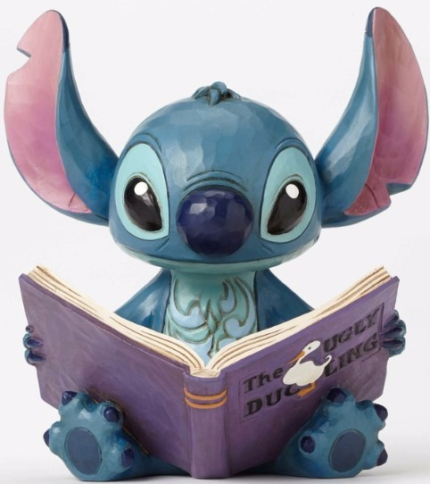 Jim Shore Disney 4048658 Stitch with Story book
