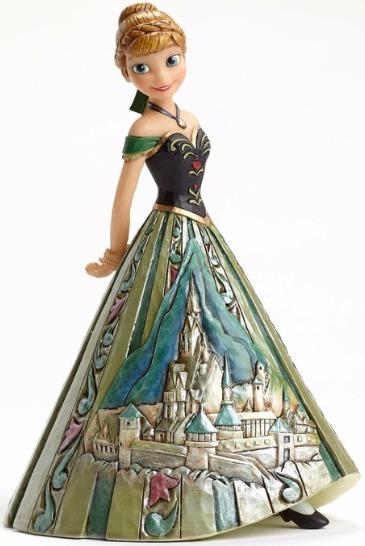 Jim Shore Disney 4048661 Anna Castle Dress