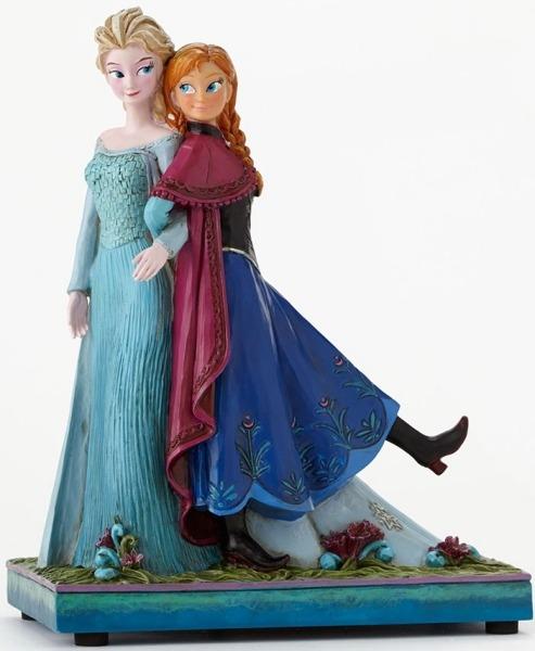 Jim Shore Disney 4049101 Frozen Elsa and Anna M