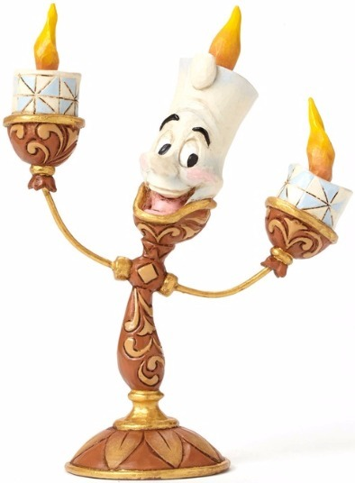 Jim Shore Disney 4049620 Lumiere Figurine