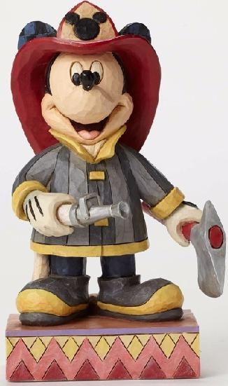 Jim Shore Disney 4049632 Fireman Mickey