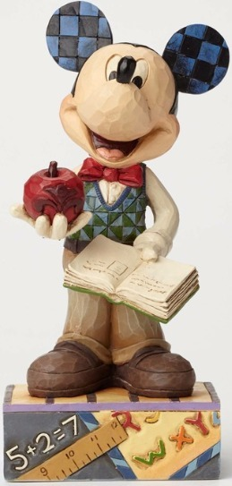 Jim Shore Disney 4049634 Teacher Mickey