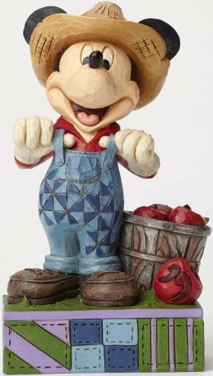 Jim Shore Disney 4049635 Farmer Mickey