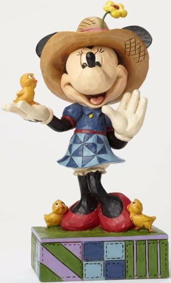 Jim Shore Disney 4049636 Farmer Minnie