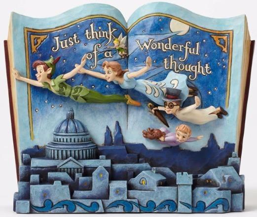 Jim Shore Disney 4049643 Storybook Peter Pan Nurs