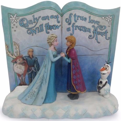 Jim Shore Disney 4049644 Storybook Frozen
