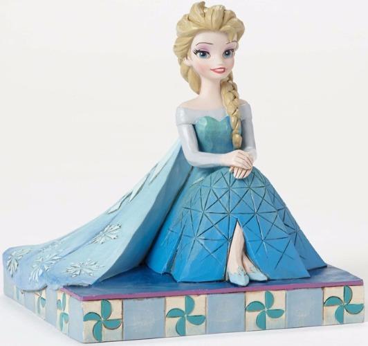 Jim Shore Disney 4050406 Elsa Personality Pose