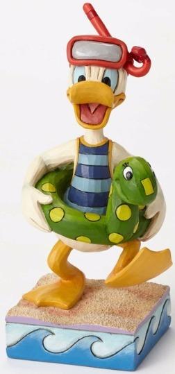 Jim Shore Disney 4050415 Donald Duck Snorkling