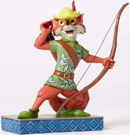 Jim Shore Disney 4050416 Robin Hood