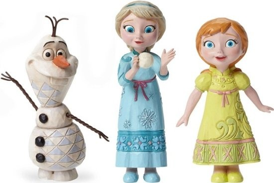 Jim Shore Disney 4050767 Young Frozen Figurine