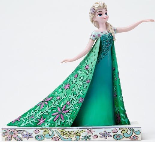Jim Shore Disney 4050881 Frozen Fever Elsa
