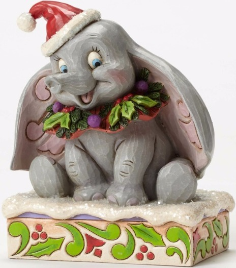 Jim Shore Disney 4051969 Dumbo 75th Sugar Coat