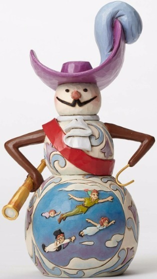 Jim Shore Disney 4051971 Peter Pan Snowman