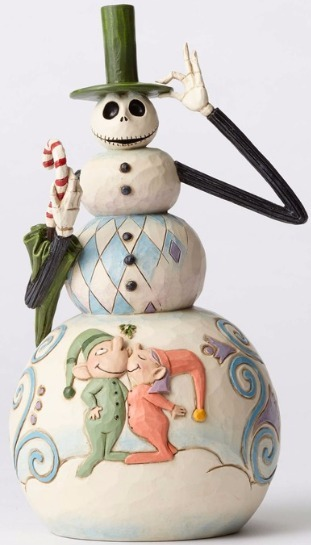 Jim Shore Disney 4051972 Jack as Snowman