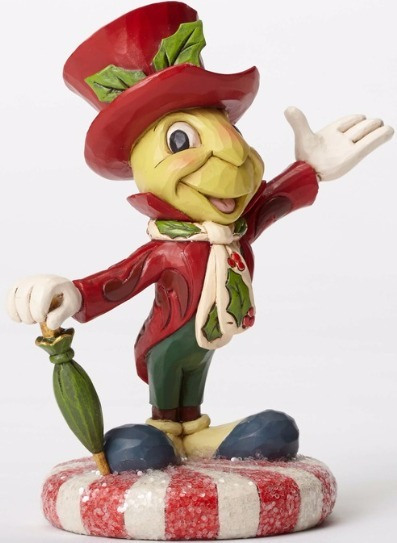 Jim Shore Disney 4051974 Jiminy Cricket Sugar Coa