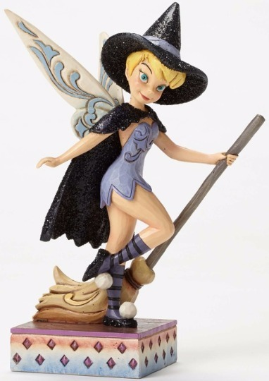 Jim Shore Disney 4051980 Tinker Bell Witch Sugar