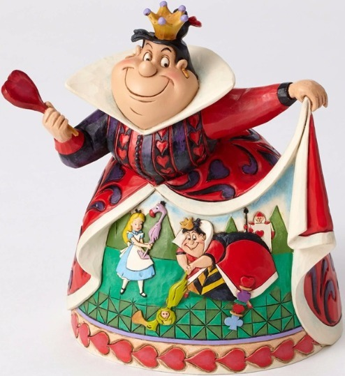 Jim Shore Disney 4051993 Queen of Hearts Diorama