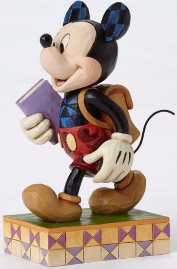 Jim Shore Disney 4051995 Back to School Mickey