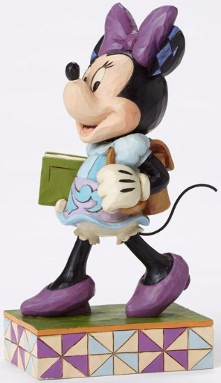 Jim Shore Disney 4051996 Back to School Minnie