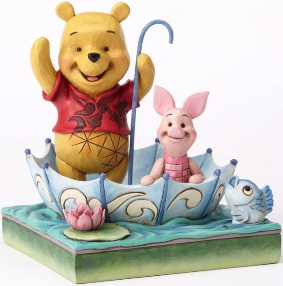 Jim Shore Disney 4054279 Pooh and Piglet Sharing